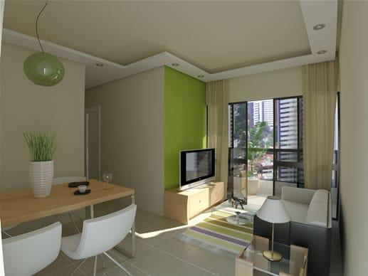 Sala De Estar Verde Kiwi ~ Dicas de decoração para sala de jantar  Comer, Blogar & AmarComer