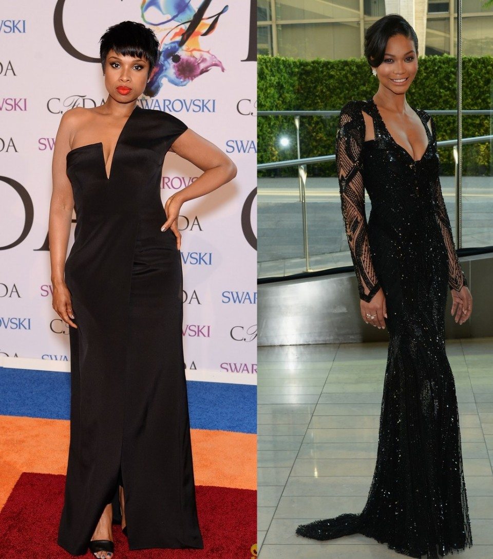 chanel-iman-jennifer-hudson-cfda-awards-2014