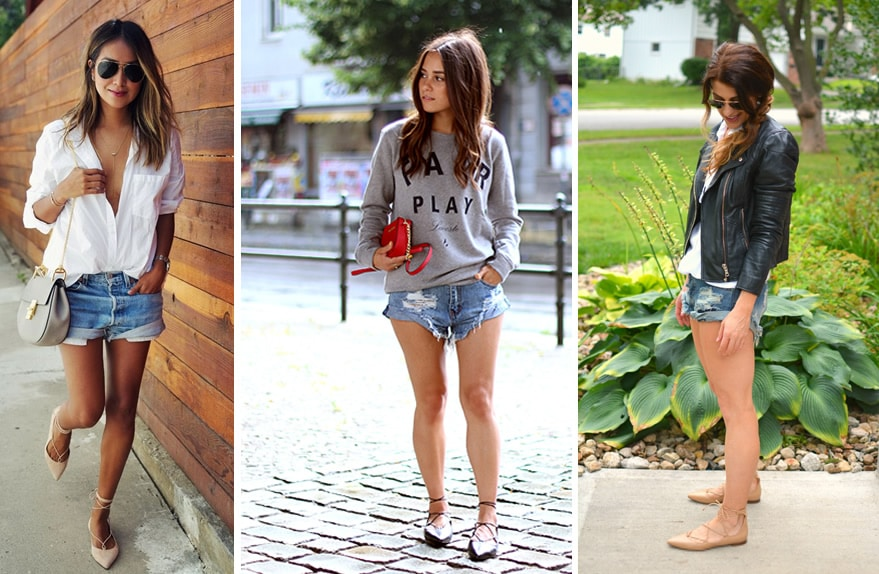 lace-up-flats-shorts-jeans