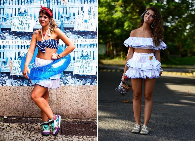 Looks para o Carnaval Marinheira