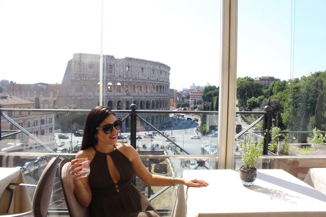 Viagem Roma, Coliseu Roma, Diário de Viagem Roma, Diário de Viagem Itália, Roma Coliseu, Dicas de Roma, Forum Romano Roma, Restaurante Aroma, Aroma, Aroma Roma, Roma Aroma, Aroma Itália