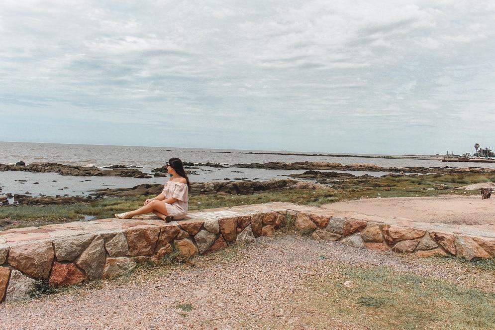 Pocitos Montevideu,Montevideu, Bairro Pocitos, Praia, Beach, Pocitos Beach