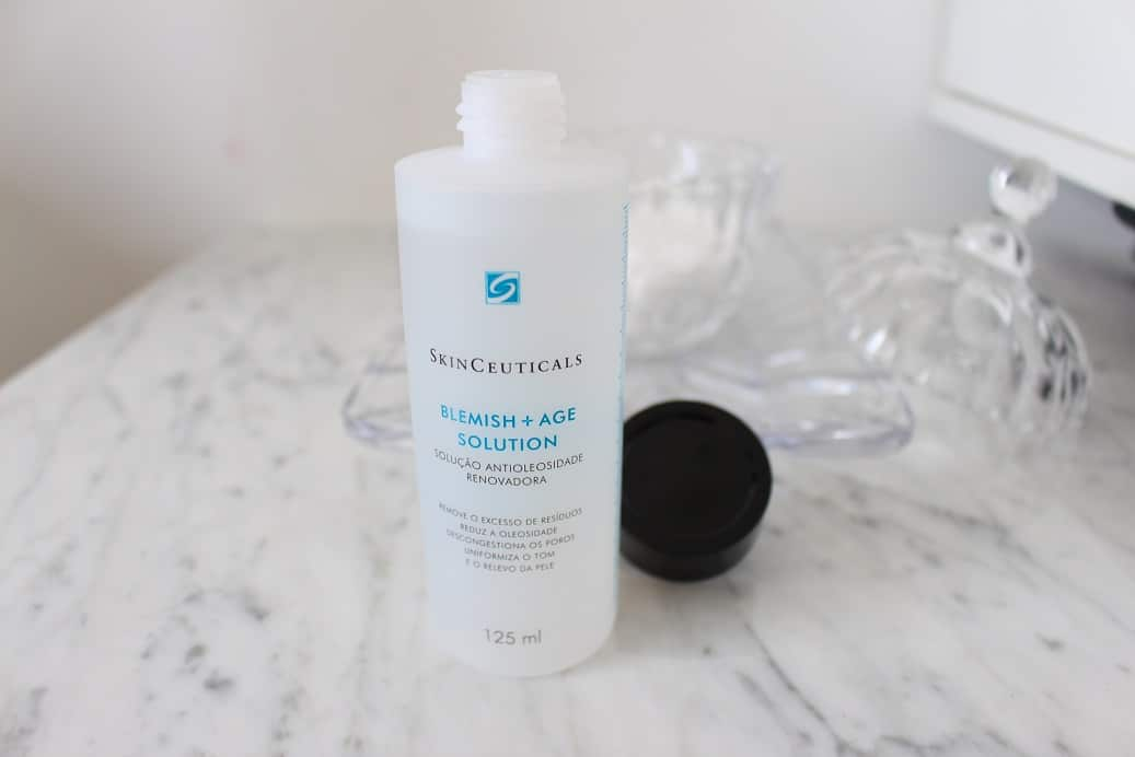 Blemish Age Solution SkinCeuticals, Produtos SkinCeuticals, Blemish Age Solution SkinCeuticals, Blemish + Age Solution, SkinCeuticals, Blemish + Age Solution, Resenha SkinCeuticals